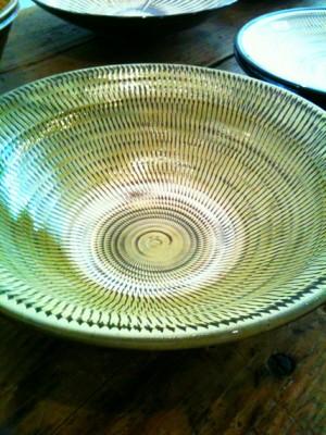 飛びカンナ8寸鉢